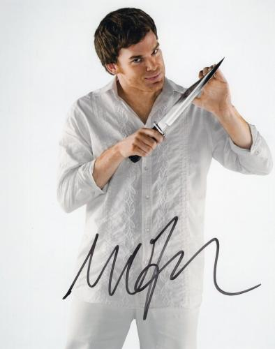 Michael C Hall signed 8x10 Photograph w/COA Dexter Six Feet Under