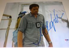 """MICHAEL C. HALL Signed Autographed """"DEXTER"""" 11x14 Photo PSA/DNA #K63497"""