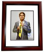 Michael C. Hall Signed - Autographed DEXTER 8x10 inch Photo - MAHOGANY CUSTOM FRAME - Guaranteed to pass PSA or JSA