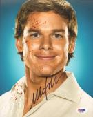 MICHAEL C. HALL Signed Autographed DEXTER 8x10 Photo PSA/DNA #AB63466
