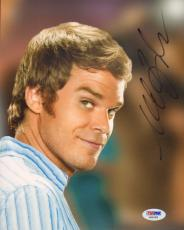 MICHAEL C. HALL Signed Autographed DEXTER 8x10 Photo PSA/DNA #AB63468