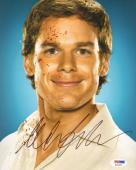 MICHAEL C. HALL Signed Autographed DEXTER 8x10 Photo PSA/DNA #X26452