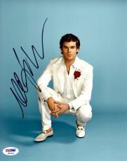 MICHAEL C. HALL Signed Autographed DEXTER 8x10 Photo PSA/DNA #X82421