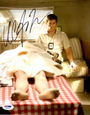 MICHAEL C. HALL Signed Autographed DEXTER 8x10 Photo PSA/DNA #X82431