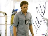MICHAEL C. HALL Signed Autographed DEXTER 8x10 Photo PSA/DNA #Y94419