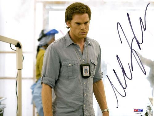 MICHAEL C. HALL Signed Autographed DEXTER 8x10 Photo PSA/DNA #Y94419