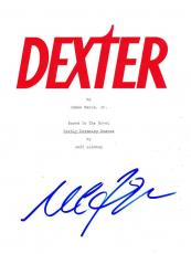 Michael C Hall Signed Dexter Pilot Script Authentic Autograph Coa