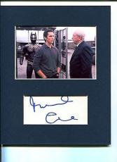 Michael Caine The Dark Knight Batman Alfred Signed Autograph Photo Display