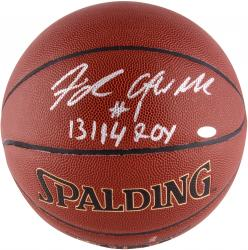 Michael Carter-Williams Philadelphia 76ers Autographed Spalding Indoor Outdoor Basketball with 13/14 ROY Inscription - Mounted Memories