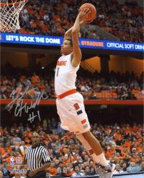 Michael Carter-Williams Syracuse Orange Autographed 8'' x 10'' Dunk Photograph - Mounted Memories