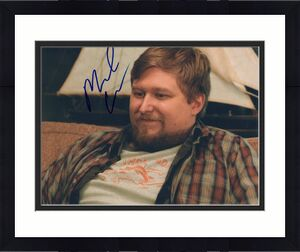 Michael Chernus signed Orange is the New Black 8x10 Photo w/COA Cal #3