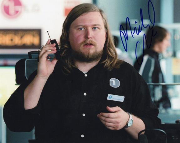 Michael Chernus signed Orange is the New Black 8x10 Photo w/COA Cal