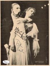 Michael Crawford Dale Kristien Signed 8x10 Photo Phantom of the Opera Auto JSA