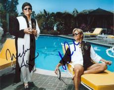 Michael Douglas and Matt Damon Signed - Autographed Behind the Candelabra 8x10 Photo - Liberace