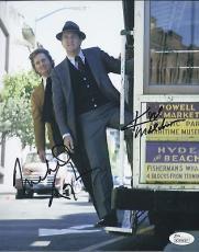 Michael Douglas & Karl Malden Signed 'streets Of San Francisco' 8x10 Photo Jsa