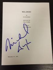 "Michael Douglas Signed Autograph ""basic Instinct"" Full Movie Script With Coa"