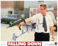 Michael Douglas Signed Falling Down Autographed 11x14 Lobby Card PSA/DNA#AB90149