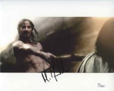 MICHAEL FASSBENDER 300 Autographed Signed 8x10 Photo Certified Authentic JSA COA