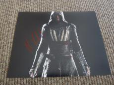 Michael Fassbender Assassins Creed Signed Autographed 8x10 Photo PSA Guaranteed