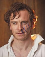 Michael Fassbender Autographed Signed Scruffy Photo AFTAL