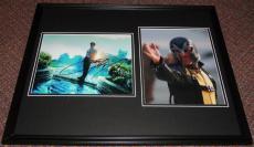 Michael Fassbender & James McAvoy Signed Framed 16x20 X Men Photo Display