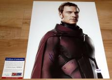 Michael Fassbender Signed 11x14 X-Men: Days of Future Past PSA/DNA