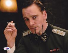 Michael Fassbender SIGNED 8x10 Photo Inglourious Basterds PSA/DNA AUTOGRAPHED