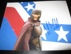 MICHAEL FASSBENDER SIGNED AUTOGRAPH 8x10 MAGNETO XMEN DAYS OF FUTURE PAST COA E