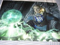MICHAEL FASSBENDER SIGNED AUTOGRAPH 8x10 PHOTO PROMETHEUS PROMO IN PERSON COA 1