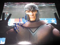 MICHAEL FASSBENDER SIGNED AUTOGRAPH 8x10 PHOTO XMEN DAYS OF FUTURE PAST COA J