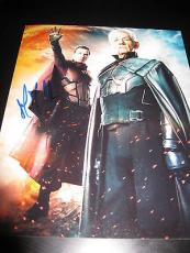 MICHAEL FASSBENDER SIGNED AUTOGRAPH 8x10 XMEN DAYS OF FUTURE PAST IN PERSON COA