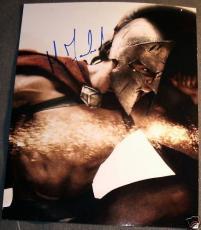 Michael Fassbender Signed Autograph Rare 300 Stud Photo