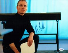 Michael Fassbender Signed Steve Jobs Autographed 11x14 Photo PSA/DNA #AB89764