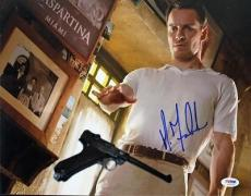 Michael Fassbender X-men Signed 11x14 Photo Psa/dna #s33579