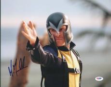 Michael Fassbender X-Men Signed 11X14 Photo PSA/DNA #U52836
