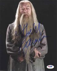 Michael Gambon Harry Potter Autographed Signed 8x10 Photo Certified PSA/DNA