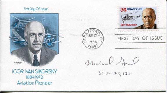 Michael Good NASA Astronaut Space Shuttle Atlantis STS Signed Autograph FDC