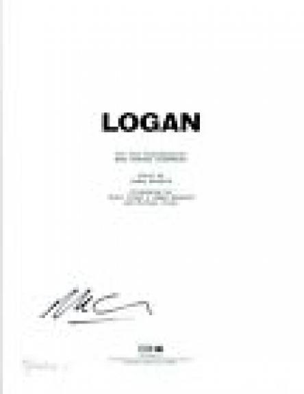 Michael Green Signed Autographed LOGAN Screenwriter Full Movie Script COA