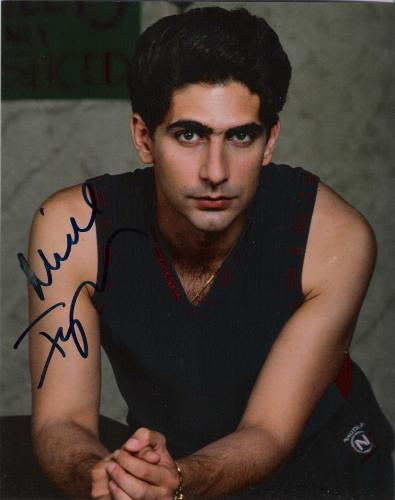 MICHAEL IMPERIOLI (ACTOR) CLOSE UP! Signed 8x10 Color Photo