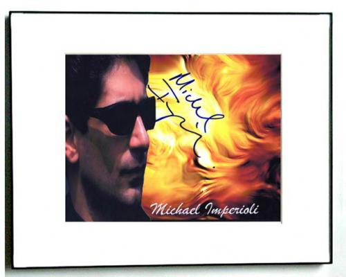 Michael Imperioli Autographed Signed Photo Detroit 1-8-7 Soprano AFTAL