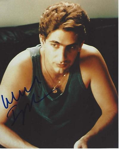 "MICHAEL IMPERIOLI Best Known as CHRISTOPHER MOLTISANTI in TV Series ""THE SOPRANOS"" Signed 8x10 Color Photo"