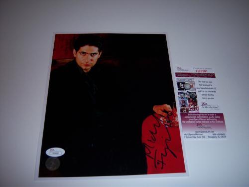 Michael Imperioli The Sopranos,actor Jsa/coa Signed 8x10 Photo