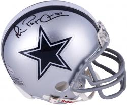 Michael Irvin Dallas Cowboys Autographed Riddell Mini Helmet - Mounted Memories