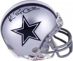 Michael Irvin Dallas Cowboys Autographed Riddell Mini Helmet