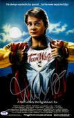 "Michael J Fox Autographed 11"" x 17"" Teen Wolf Movie Poster - PSA/DNACOA"