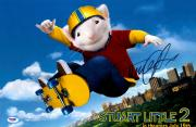 "Michael J Fox Autographed 12"" x 18"" Stuart Little 2 Movie Poster - Beckett COA"