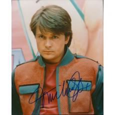 Michael J Fox Autographed 8x10 Photo