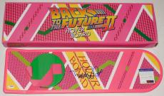 Michael J Fox Autographed Hoverboard (back To The Future) - Psa Dna!