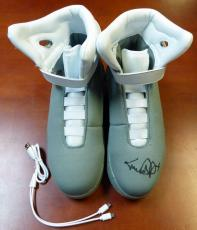 Michael J Fox Autographed Signed Back To The Future Air Mag Shoes Psa/dna