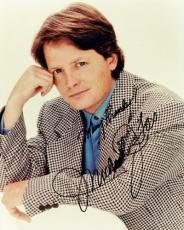 Michael J Fox Autographed Vintage 8x10 Photo